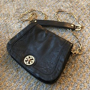 Tory Burch chain crossbody leather bag